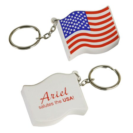 US Flag Key Chain Stress Balls