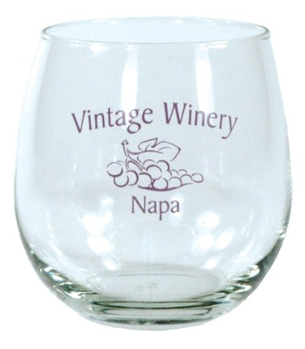 16.75 oz. Stemless Wine Glasses