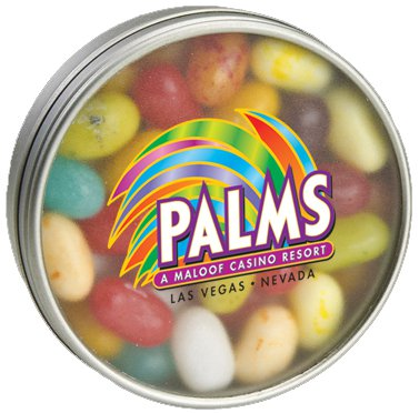 Jelly Belly Round Window Tins