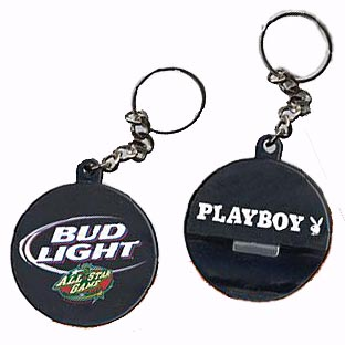 bottle openers hockey puck key chains custom promotional products by printglobe. Black Bedroom Furniture Sets. Home Design Ideas