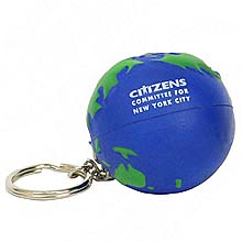 Key Chains, Earthball Stress Reliever