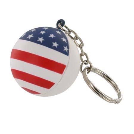 Key Chains, Stress Balls, Patriotic Ball Shape