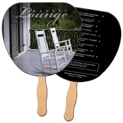 Sandwiched Assorted Shape Wedding Hand Fans