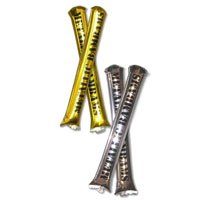 Metallic BamBams Inflatable Noisemakers