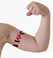 "2"" x 6"" Kid Size Armband Temporary Tattoos"
