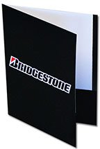 Side Reinforced Presentation Folders