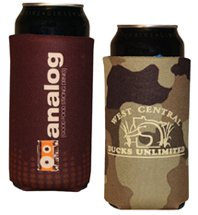 16 oz. Tall Boy Scuba Foam Can Holders