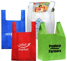 13 x 17 Non-Woven Lite Grocery Bags