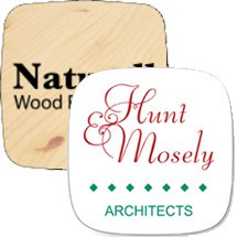 "2"" x 2"" Square Shaped with Rounded Corners Hard Hat Decals"