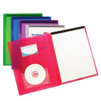 8.5 x 11 Pad Folios with CD Pouch