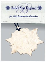 Plantable Snowflake Ornament with Header Card