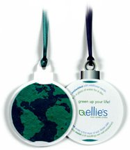 Seed Infused Globe Ornament Gift Tags
