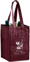 4 Bottle Non-Woven Wine Bag
