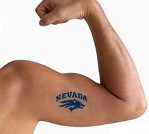 "Low Minimum Quick Ship 2"" x 2"" Waterless Temporary Tattoos"