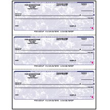 Multi-Purpose Checks, 3-on-a-Page (Laser)