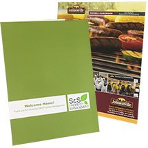 9 x 12 Printed Presentation Folders - Two Pockets