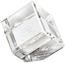 3D Crystal Jewel Cube Paperweights