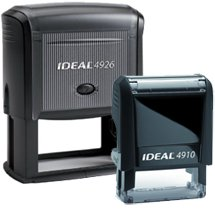 Ideal Self-Inking Stamps, Multiple Sizes