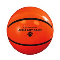 Sport Beach Balls, Basketball 9""