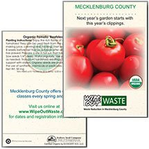 Organic Tomato Seed Packets