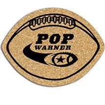 Football Cork Coasters