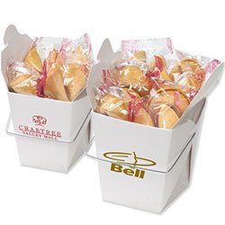 Fortune Cookies in Carry Out Containers