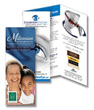 8.5 x 11 sheet - Full Color Brochure
