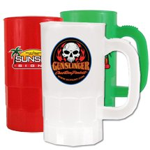 14 oz. Full Color Process Plastic Beer Steins