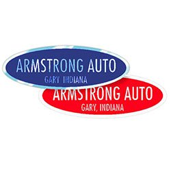 "Reflective Auto Decals, Oval, 5-3/4"" x 1-7/8"""