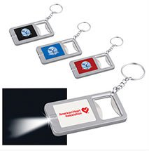 Flash Light Key Chains, Bottle Openers