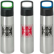26 oz. Modern Stainless Steel Water Bottles - Large Handle
