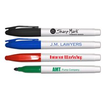 Liqui-Mark Permanent Markers, Sharp Mark Fine Tip