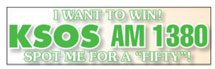 "11.5"" x 3"" Clear Bumper Stickers"