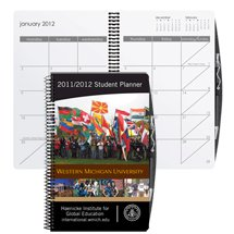 Academic Weekly Planners with Pen - Spiral Bound