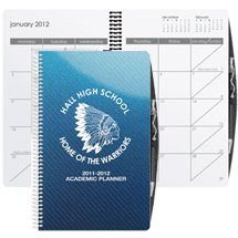Poly Cover Academic Weekly Planners, Spiral Bound