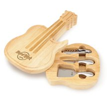 Guitar Swivel Style Cheese Board Sets