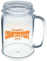 16 oz. Acrylic Mason Jar Mugs