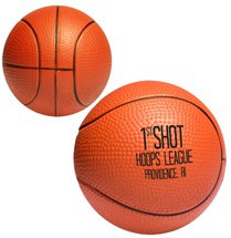 Basketball Budget Stress Balls