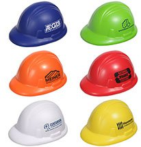 Hard Hat Stress Balls - Colors
