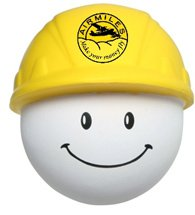 Hard Hat Mad Cap Stress Balls