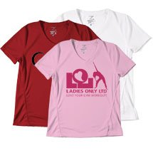 Marathon Syntrel™ Women's V-Neck Training Tee