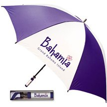"Fiberglass Shaft Golf Umbrella with ID Handle - 62"" Arc"