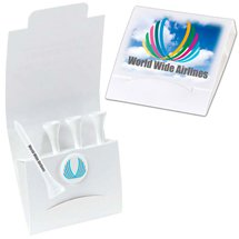 "Golf Tee Packets - 2-3/4"" Tee"