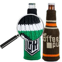 Knitted Bottle Holders