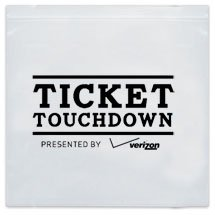NFL Approved ZipLock Reclosable Plastic Stadium Bags