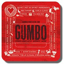 "3.5"" Square Heavy Weight Pulpboard Coasters - High Quantity"