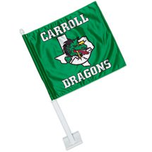 12 x 13.75 Low Minimum Full Color Car Flags