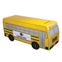 School Bus Poster Board Coin Banks