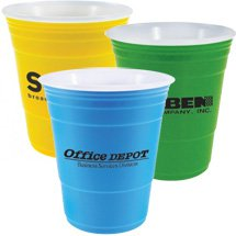 16 oz. Double Wall Plastic Uno Cups