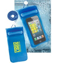 Handy Waterproof Phone Pouches with Neck Cord